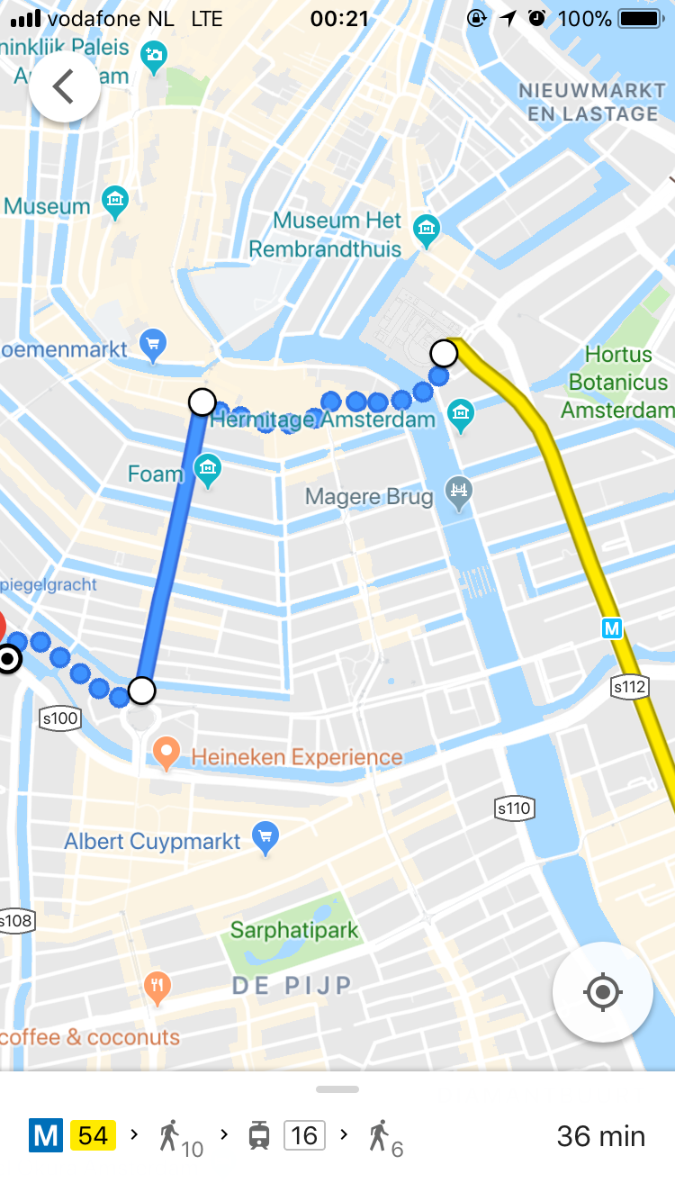 Automated navigation that supports humans