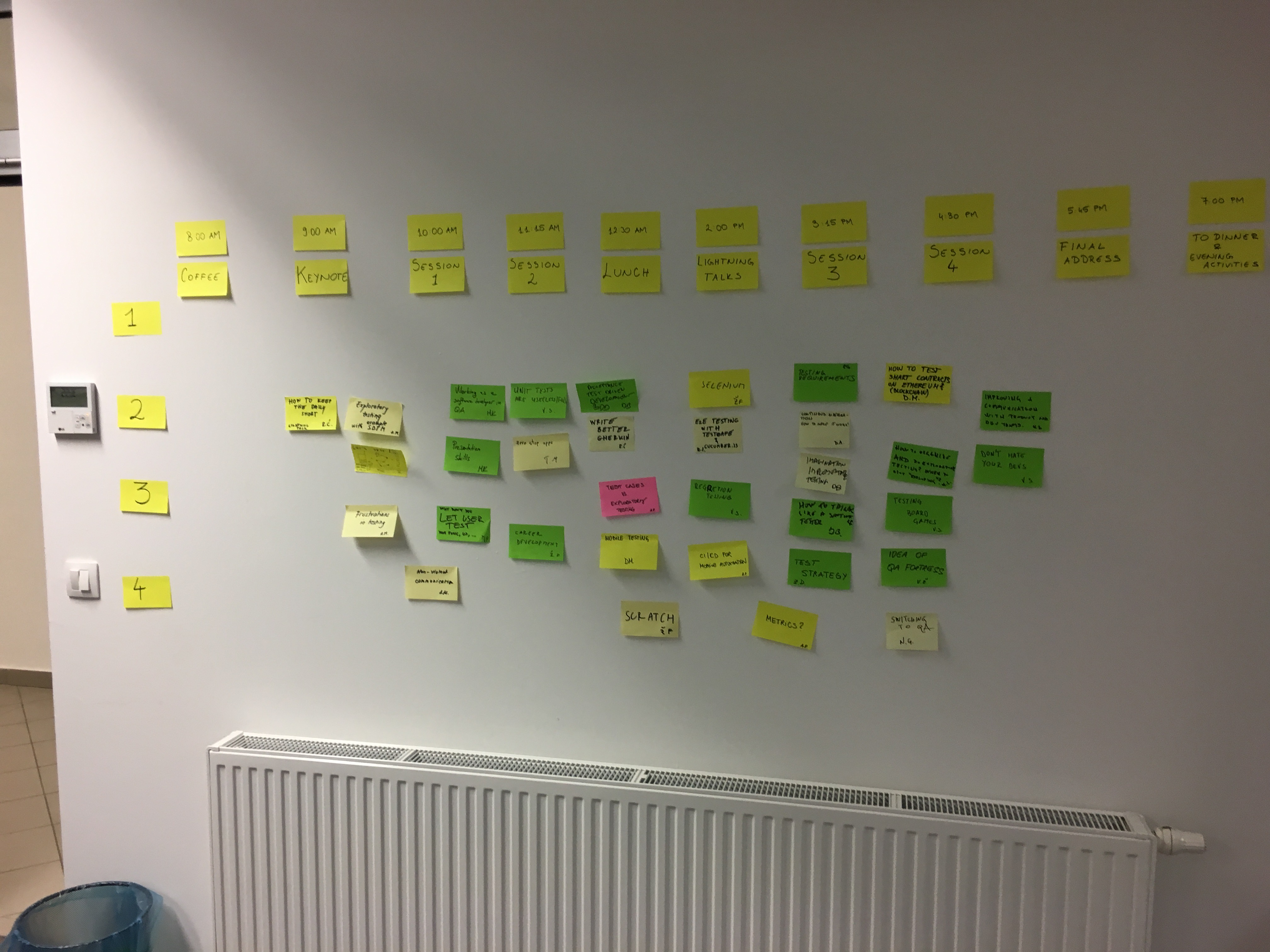Why You Should Use Sticky Notes For Scheduling