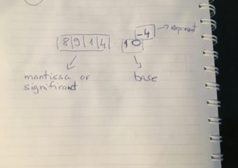 Floating-Point Number Representation