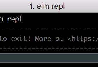 Elm Interactive Shell, Repl