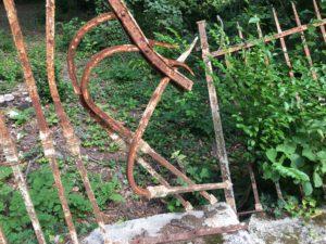 Fence Damage