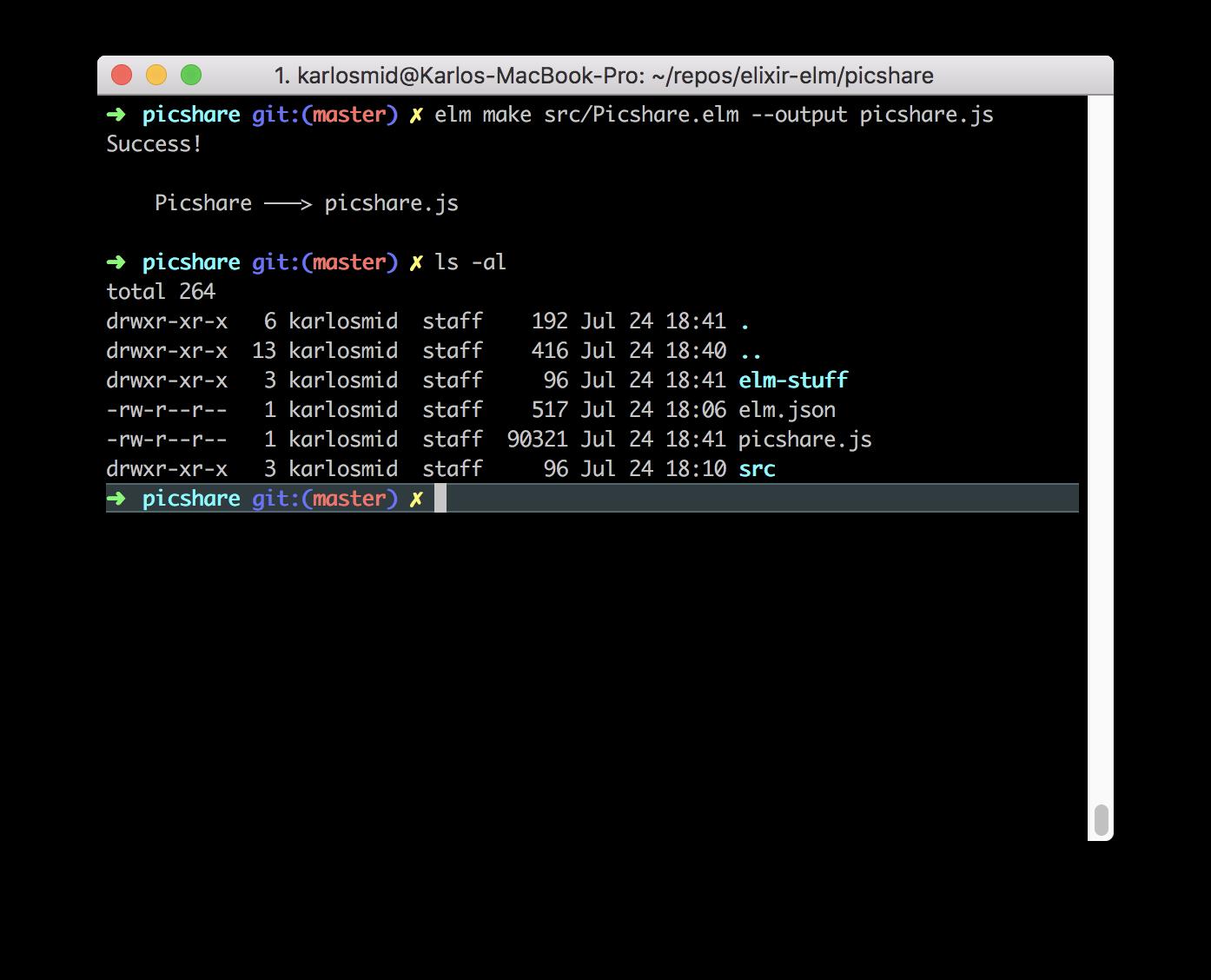 Compile Elm To Javasctipt