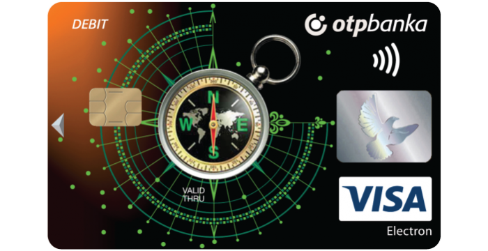 OTP Bank Visa Debit Card